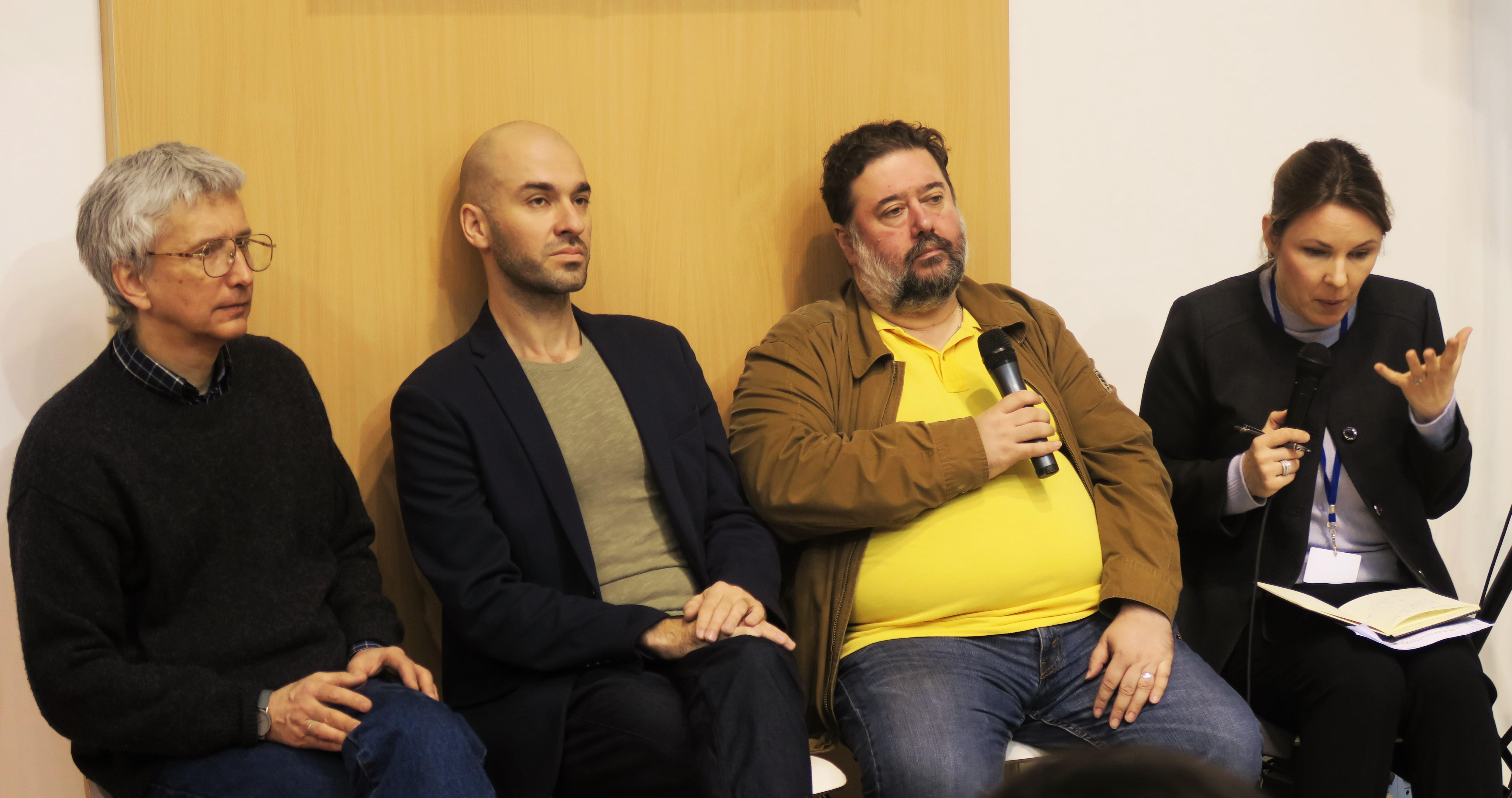 Alexandre Sneguirev, Dmitri Danilov et Vassili Golovanov