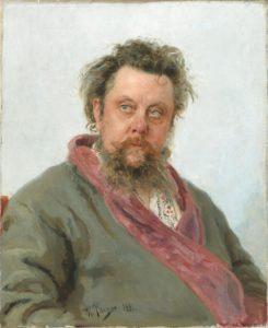 Modeste Moussorgski par Ilya Répine