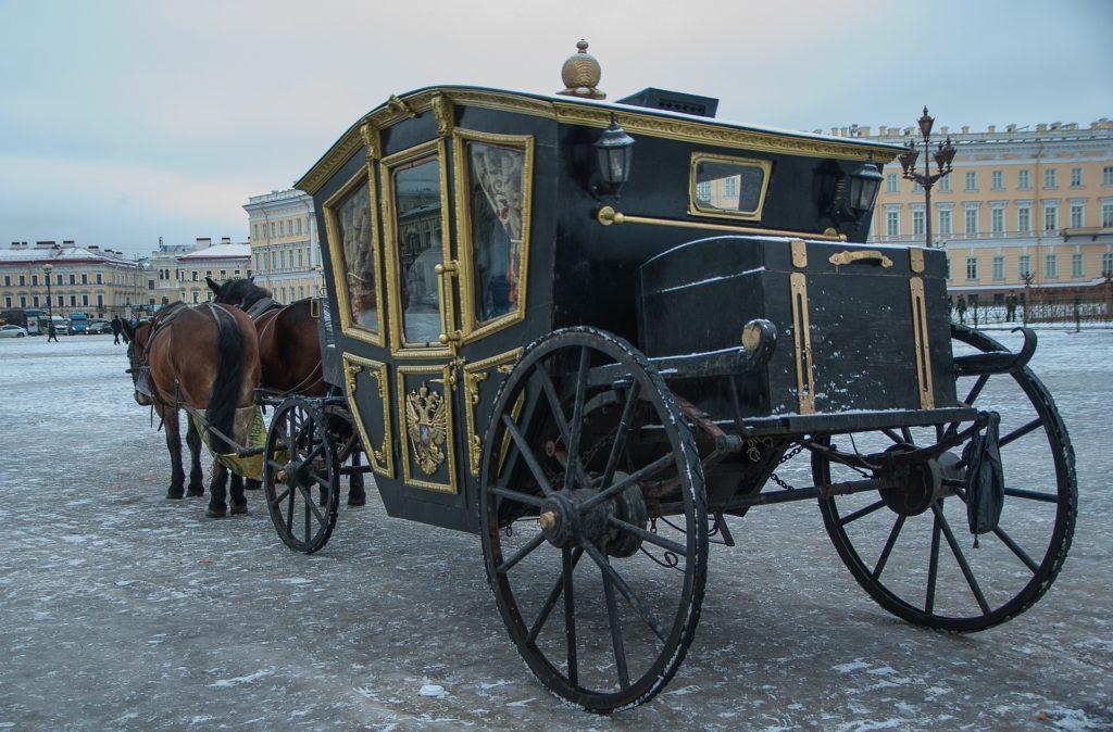 Saint-Pétersbourg calèche