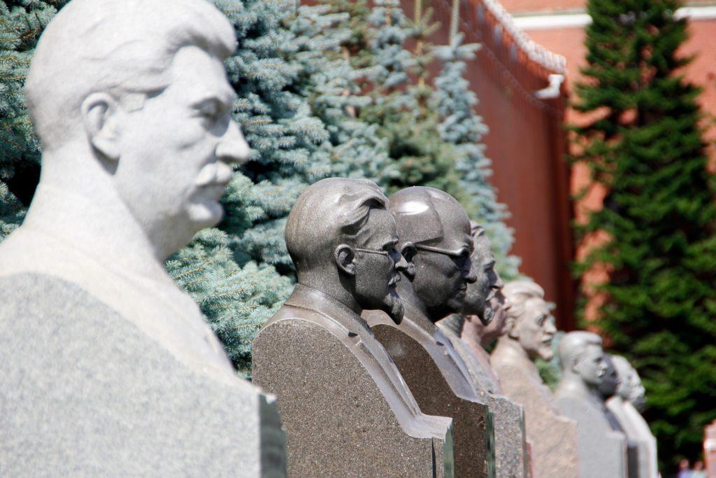 Buste Staline et communistes