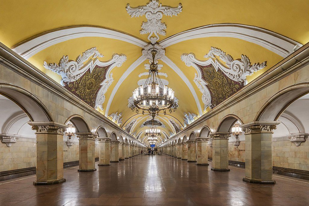 metro komsomolskaya