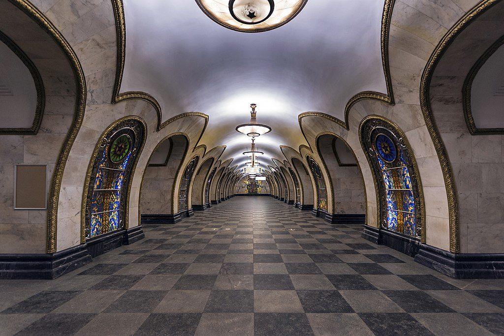 novoslobodskaya station métro moscou
