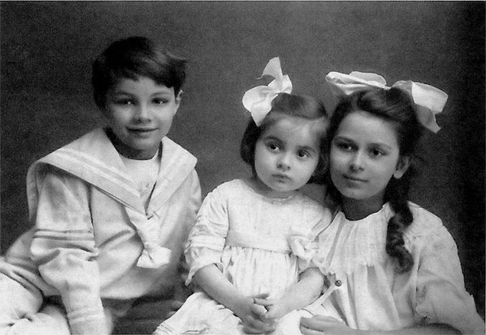 julian scriabine et ses soeurs