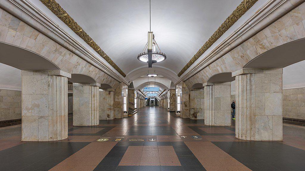 kurskaya station metro moscou