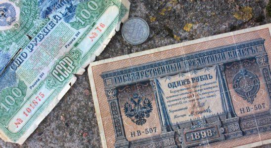 argent russe emprunts