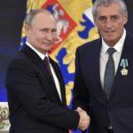 Le maire de Montpellier décoré par Vladimir Poutine