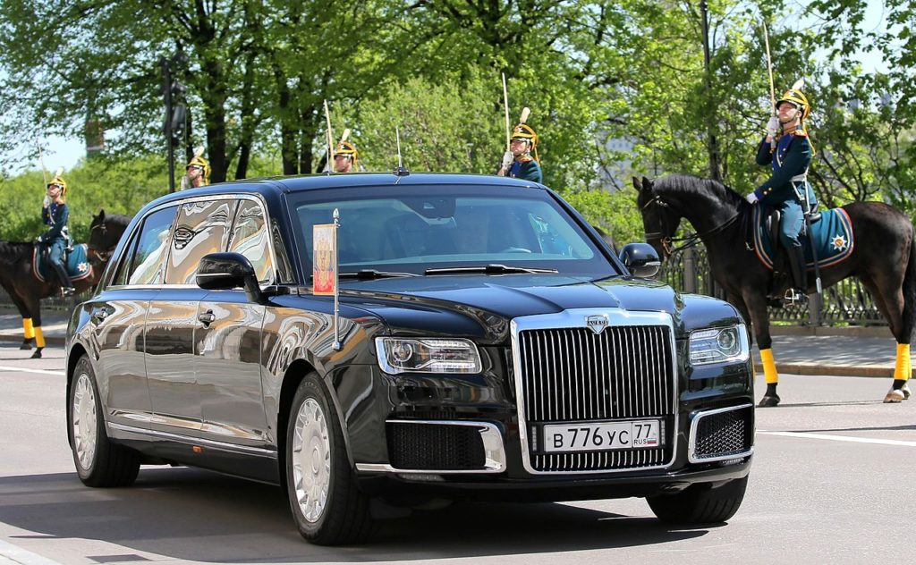 voiture russe de vladimir poutine