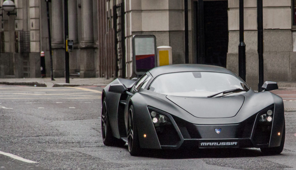 voiture sport russe marussia