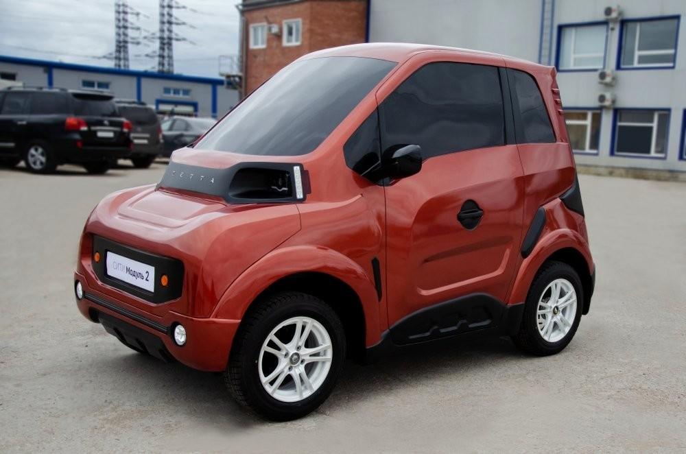 voiture russe électrique zetta