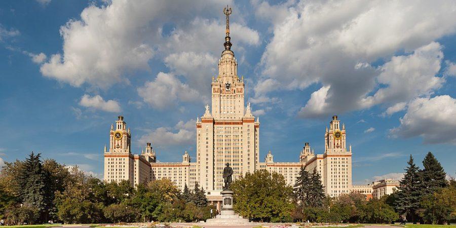 urss architecte moscou lomonossov universite