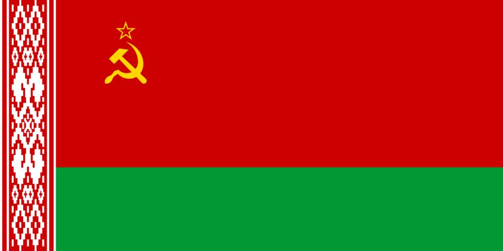 drapeau communiste belarus